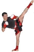 Удар ногой в кикбоксинге