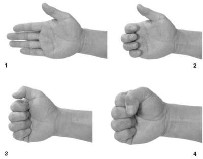 Как сжать кулак