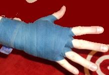 Продвинутый метод бинтования рук