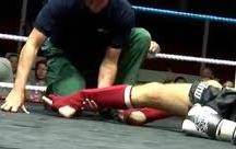 Травма на ринге