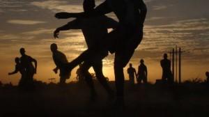 Уличные спортсмены