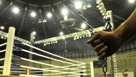 Помещение для соревнований по боксу и кикбоксингу