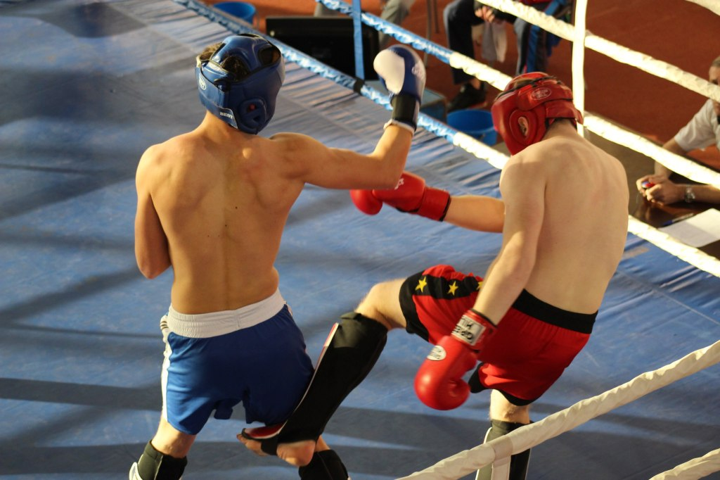 Студенческий чемпионат по кикбоксингу в Челябинске.